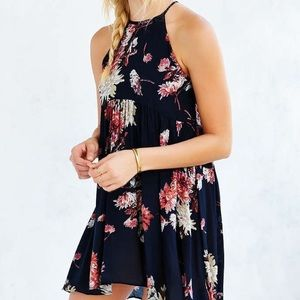 Kimchi Blue Urban Outfitters Halter High Low Dress